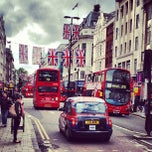 Photo taken at Oxford Street by Jiri K. on 6/4/2012