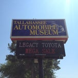 Photo taken at Tallahassee Antique Car Museum by Julian W. on 5/25/2012