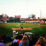 Photo taken at Dozer Park by Bobby M. on 5/10/2012