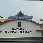 Photo taken at Dataran Bandar Marang by RZLN R. on 3/28/2012