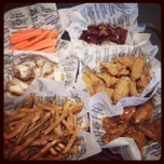 Photo taken at Wingstop by Pete R. on 4/24/2012