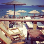 Photo taken at Ναυαγός Beach Bar by maria m. on 8/6/2012