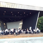 Photo taken at Mary Louise Jackson Amphitheater by Patrick B. on 6/9/2012