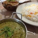 Photo taken at Himalaya Restaurant by Katie L. on 7/28/2012