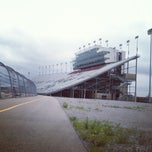 Photo taken at Nashville Superspeedway by Robert B. on 9/3/2012