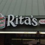 Photo taken at Rita's by Rob M. on 4/15/2012