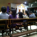Photo taken at Gereja Santo Alfonsus Rodriguez by Tantom P. on 4/5/2012