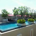 Photo taken at Tara Mantra Cha-Am Resort (ธารามันตรา ชะอำ) by Vodka B. on 3/7/2012