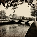 Photo taken at The River Liffey by Lenka T. on 8/16/2012