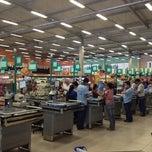 Photo taken at Superluna Supermercados by Edpo S. on 8/11/2012