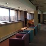 Photo taken at Folke Bernadotte Memorial Library by Max B. on 3/6/2012