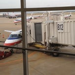 Photo taken at Gate B12 by Keren A. on 6/3/2012