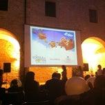 Photo taken at Chiostro Sant'Agostino by Corrado F. on 7/5/2012