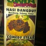 Photo taken at Comedy Cafe by Jacky K. on 6/10/2012