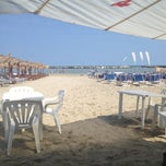 Photo taken at Villa Rosa - Bar Beach & Restaurant by Ilaria B. on 9/7/2012
