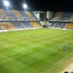 Photo taken at Estadio Ramón de Carranza by Sergio R. on 9/8/2012