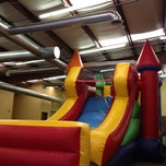 Photo taken at Leapin' Lizards Fun & Party Center by Peter F. on 5/18/2012