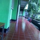 Photo taken at SMAN 98 Jakarta by Muhammad A. on 5/24/2012