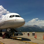 Photo taken at Jackson Hole Airport (JAC) by Yaejin K. on 7/13/2012