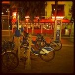 Photo taken at Vélo Bleu (Station No. 19) by Iarla B. on 4/6/2012
