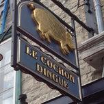 Photo taken at Le Cochon Dingue by Vincent C. on 8/25/2012