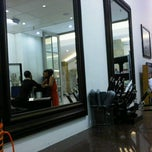 Photo taken at African Mirror Hair Salon @ Pavillion by Gabi M. on 4/7/2012