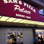 Photo taken at Sam's Pizza Palace by Michele F. on 6/10/2012