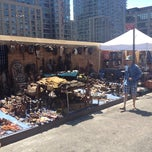Photo taken at Hell's Kitchen Flea Market by Ayo A. on 6/16/2012