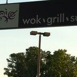 Photo taken at R. Rice Wok Grill Sushi by Suraj K. on 6/16/2012