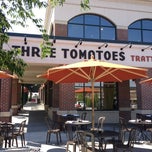 Photo taken at Three Tomatoes Trattoria by Harjit on 6/17/2012