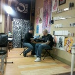 Photo taken at Warpaint Tattoos by Mike S. on 3/15/2012