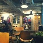 Photo taken at cafe de minayoshi by sae jung p. on 2/16/2012