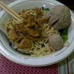 Photo taken at Bakso Langen Sari by Wenda W. on 3/26/2012