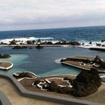 Photo taken at Piscinas Naturais do Porto Moniz by Elma C. on 7/3/2012
