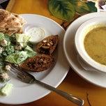Photo taken at Tarek's Cafe by Karen B. on 6/5/2012