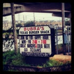 Photo taken at Bubba's Texas Burger Shack by MoiseKapenda B. on 9/12/2012