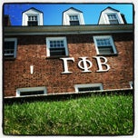 Photo taken at Gamma Phi Beta by Mary W. on 3/28/2012