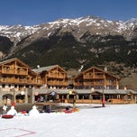 Photo taken at Val Cenis by Sylvain L. on 3/24/2012