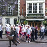 Photo taken at The Cricketers by Simon B. on 5/19/2012