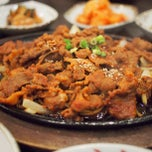 Photo taken at Chang Jing Korean BBQ by PoP O. on 8/26/2012