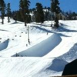 Photo taken at Bear Mountain Ski Resort by Theo G. on 3/3/2012