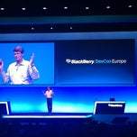 Photo taken at BlackBerry DevCon Europe at the Amsterdam RAI Convention Centre by Victoria A. on 2/8/2012