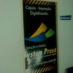 Photo taken at Copiadora System Press by Fabio B. on 5/24/2012