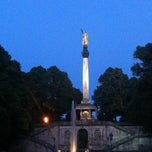 Photo taken at Friedensengel by Philipp M. on 8/19/2012