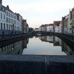 Photo taken at Jan Van Eyck Plein by Fré D. on 8/12/2012