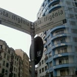 Photo taken at Rua Santa Ifigênia by Marcelo P. on 4/21/2012