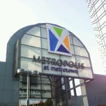 Photo taken at Metropolis at Metrotown by Ebrahem M. on 7/8/2012