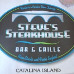 Photo taken at Steve's Steakhouse by Stewart I. on 5/30/2012