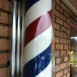 Photo taken at Vestavia Barber Shop by Jason C. on 3/22/2012