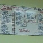 Photo taken at Lenchitas Restaurant by Ismael D. on 9/12/2012